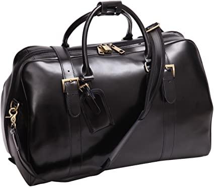 le sac de voyage Leathario Overnight Travel Duffel facilite la prise de vue