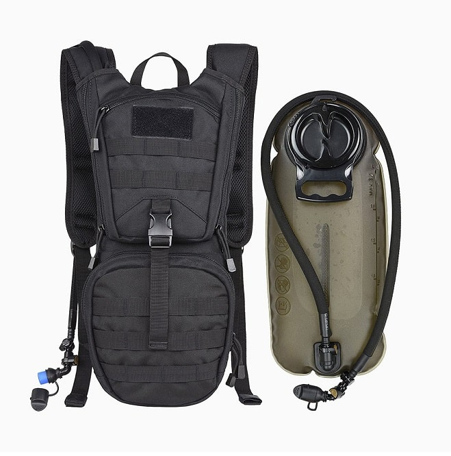 sac a dos tactique Marchway pack d'hydratation