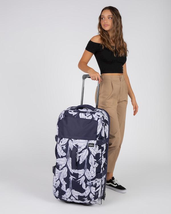 Les grandes valises à roulettes de la gamme Roxy
