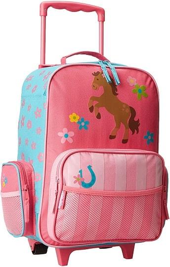 valise à roulettes fille de Stephen Joseph Little Girls