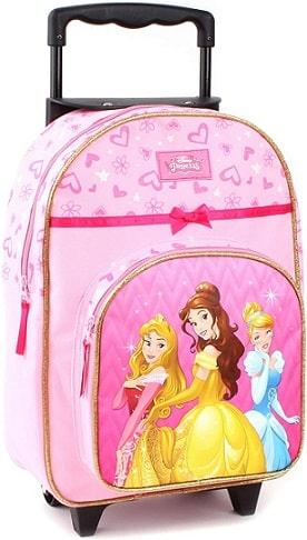 valise à roulettes filles Heys Disney Princess pour enfants