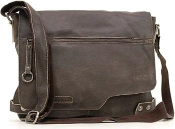 ASHWOOD sac à bandoulière en cuir véritable