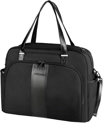 KROSER 15,6 pouces sac pour ordinateur portable grand sac fourre-tout avec poche RFID