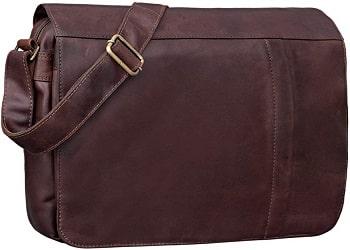 STILORD 'Jeremy' sac bandoulière en cuir homme grand sac pour le bureau